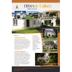flyers Immobilier : achat, vente, estimation